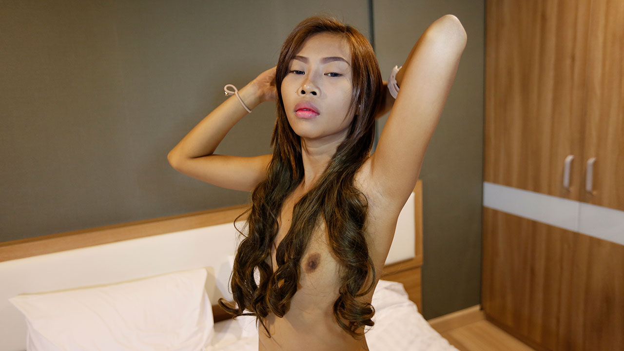 Skinny Asian Slut